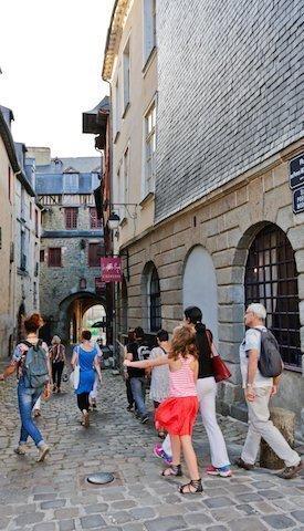 Puertas Mordelaises - Visita guiada