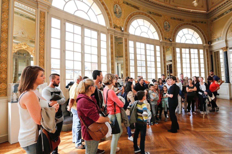 Visite de l'opéra de Rennes