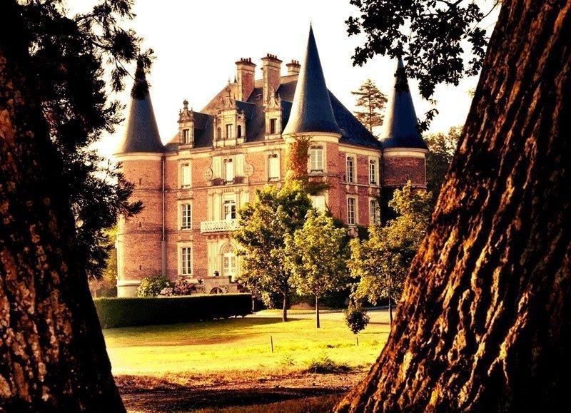 Le château d'Apigné près de Rennes