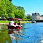 Balade en bateau électrique à Rennes