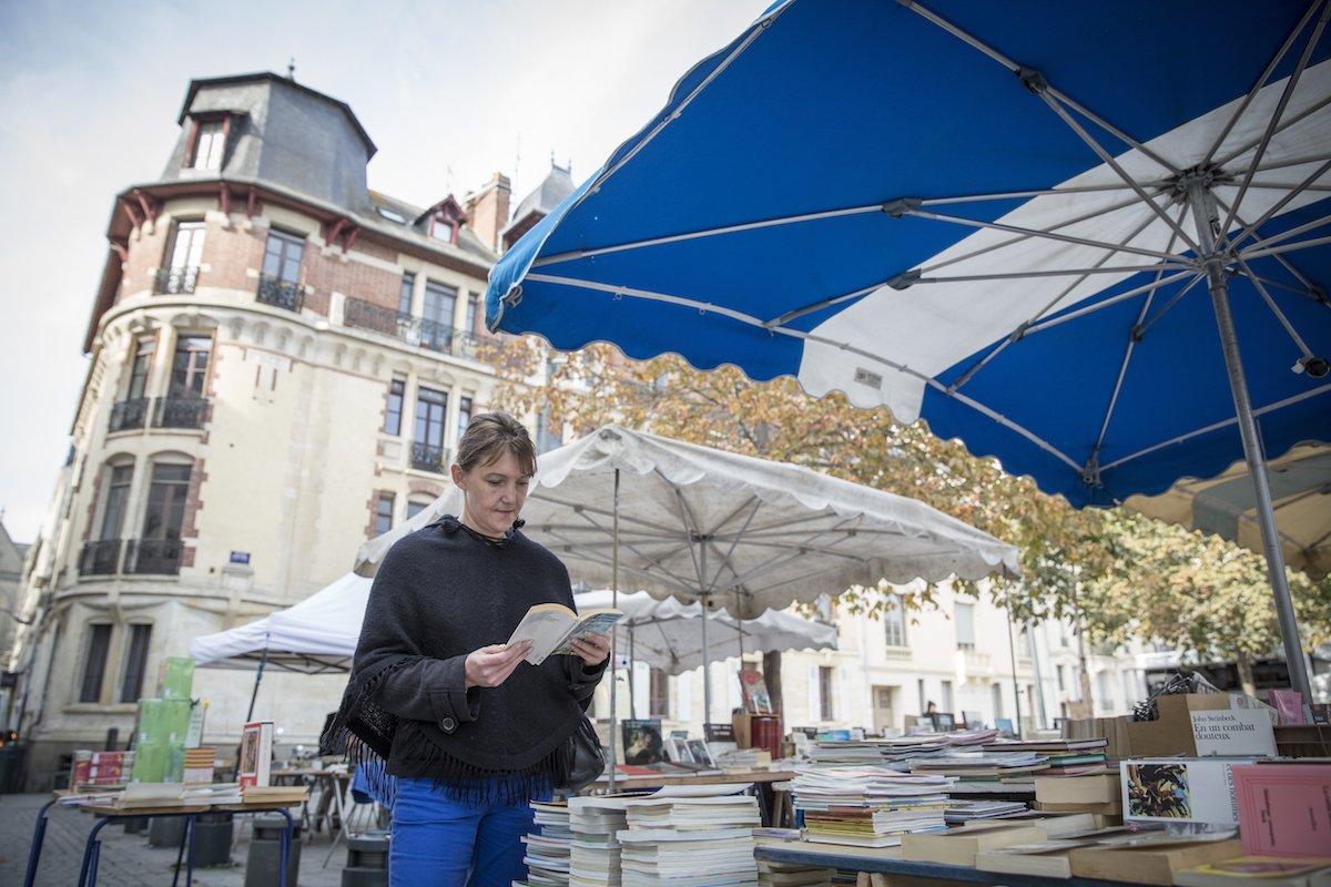 Séverine Even, place Hoche à Rennes