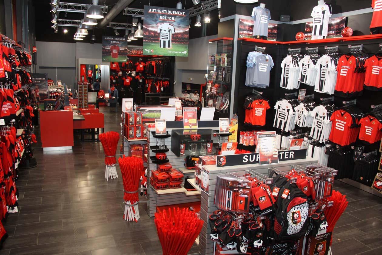 La boutique du stade Rennais