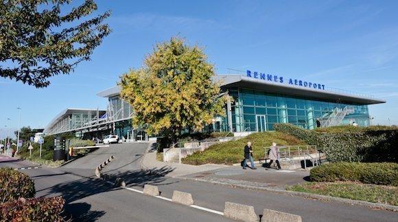 Venir à Rennes par avion