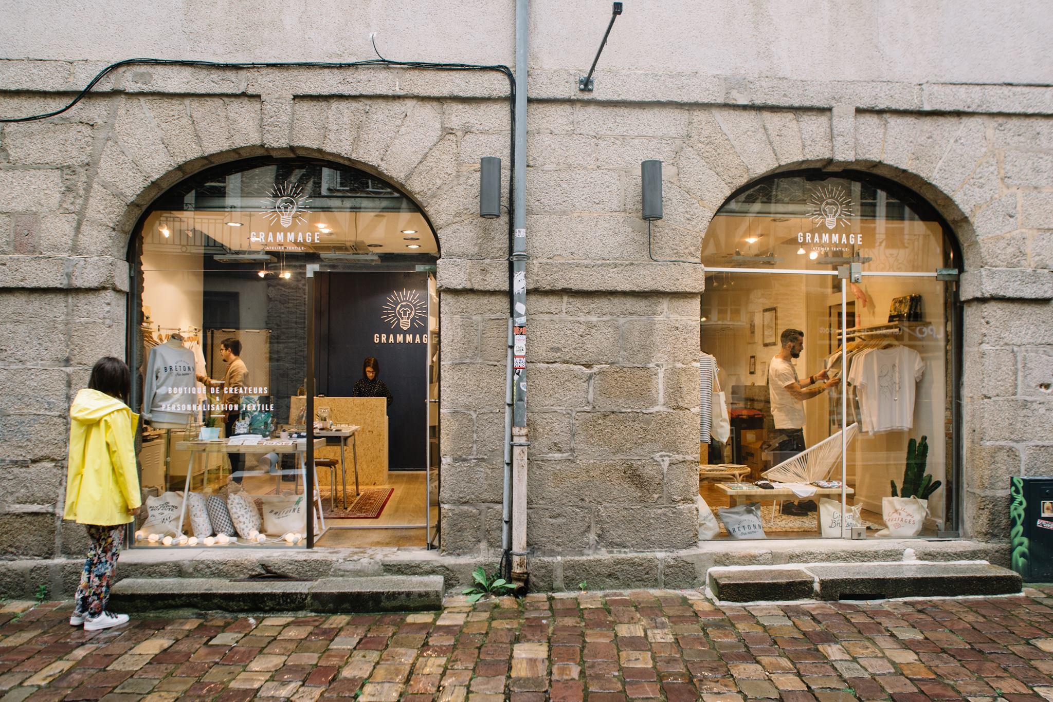 Atelier grammage à Rennes