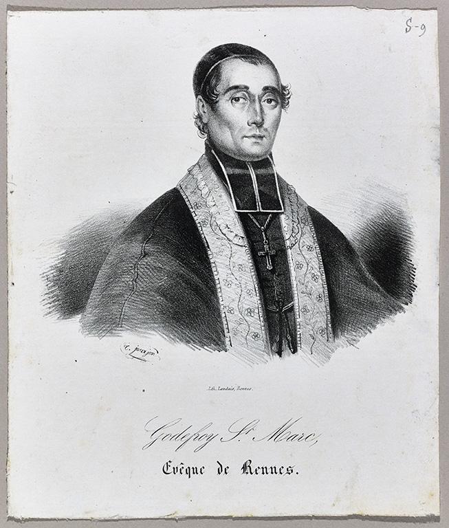 Portrait de Godefroy Brossay-Saint-Marc