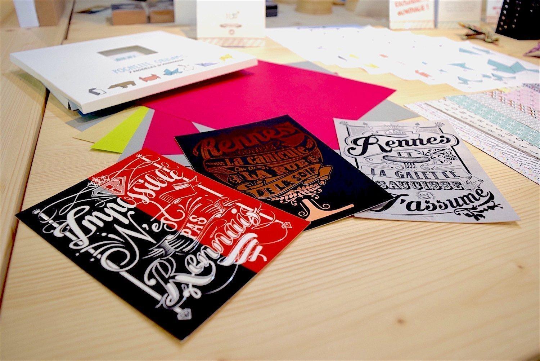 Carte postales de Rennes - Agent Paper