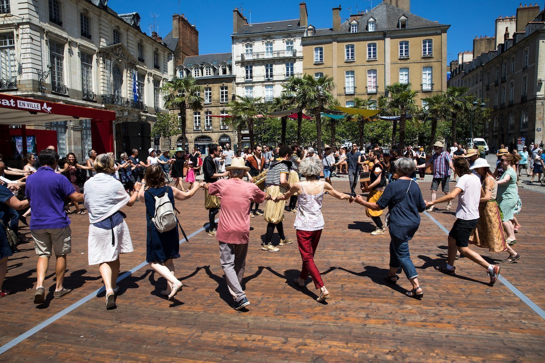 Breton dance in Rennes