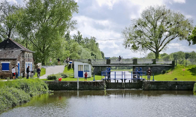 Lock on the Vilaine river