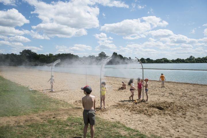 Les étangs d'Apigné à Rennes