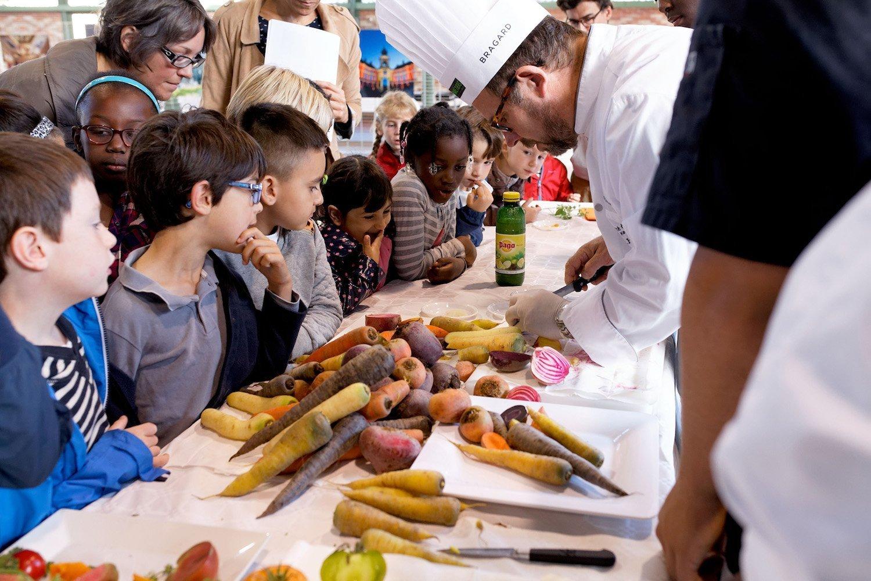 Les scolaires au Festival Gourmand