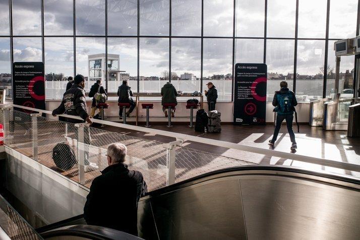 Intérieur de la gare de Rennes