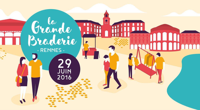 Grande braderie de Rennes 2016
