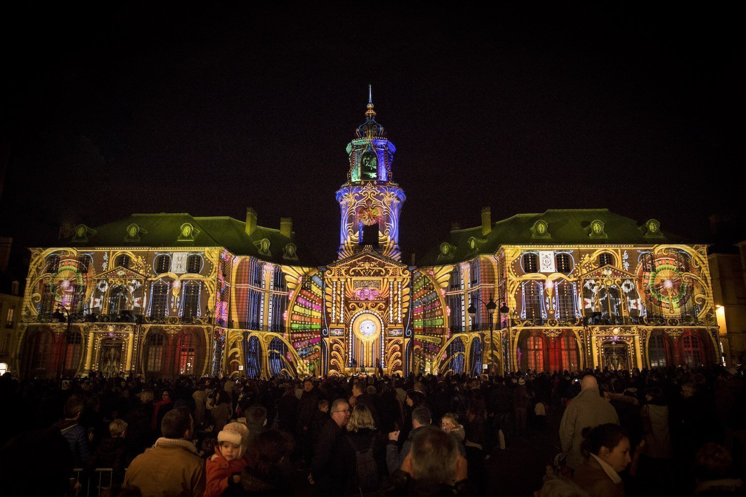 Illuminations place de la Mairie