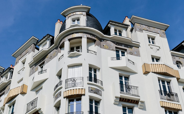 L'immeuble Poirier à Rennes, Avenue Janvier