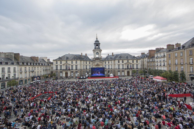 open air Opera in Rennes