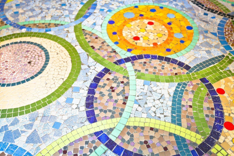 Odorico mosaics - Rennes