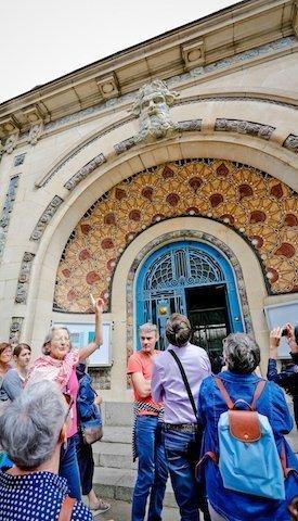 Visite guidée Odorico à Rennes