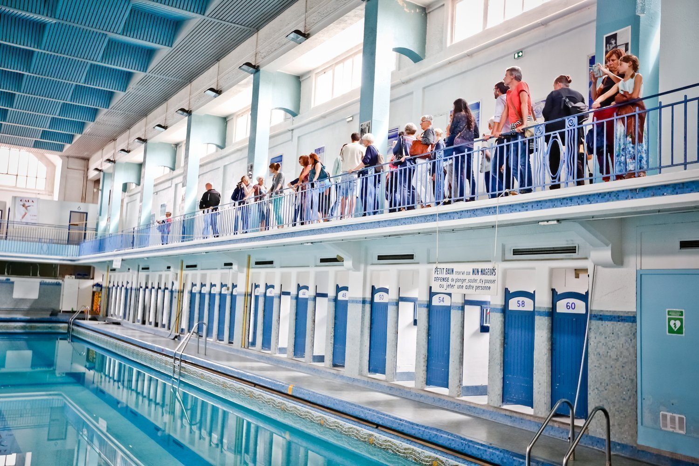 Visite de la piscine Saint-Georges à Rennes