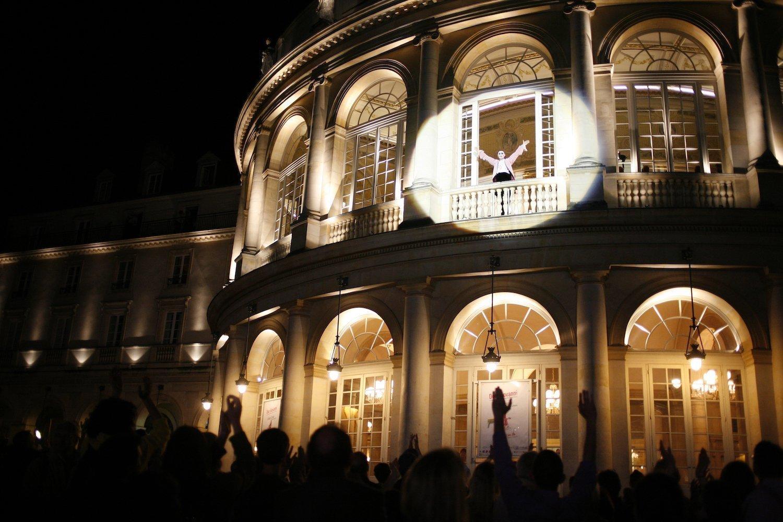 Opéra en plein air à Rennes
