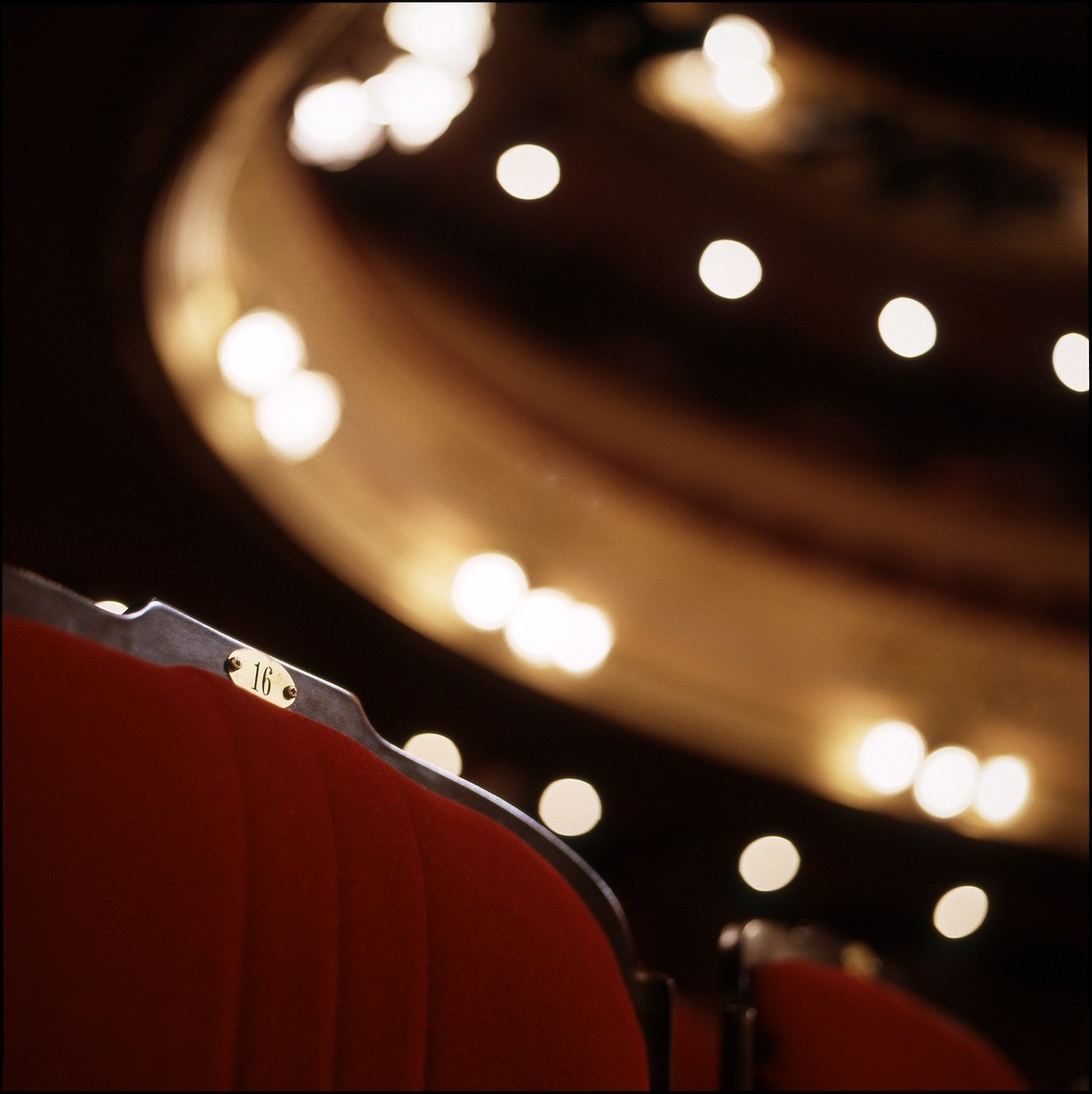 Seats of the Rennes opera house
