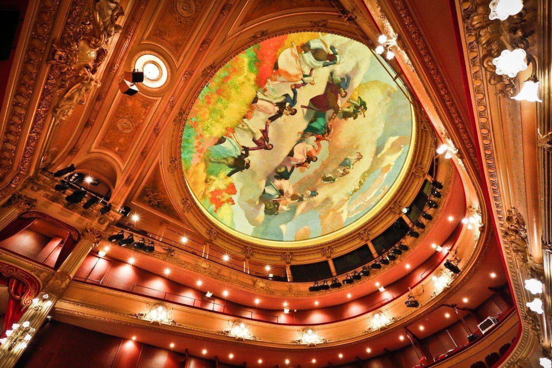 Fresques à l'opéra de Rennes