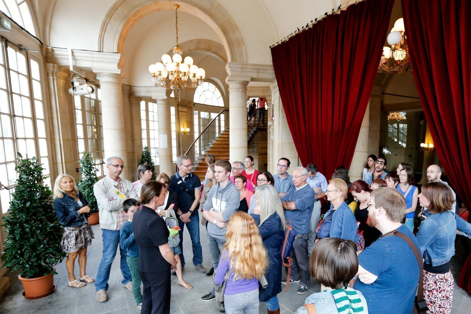 Opera in Rennes : guided tours