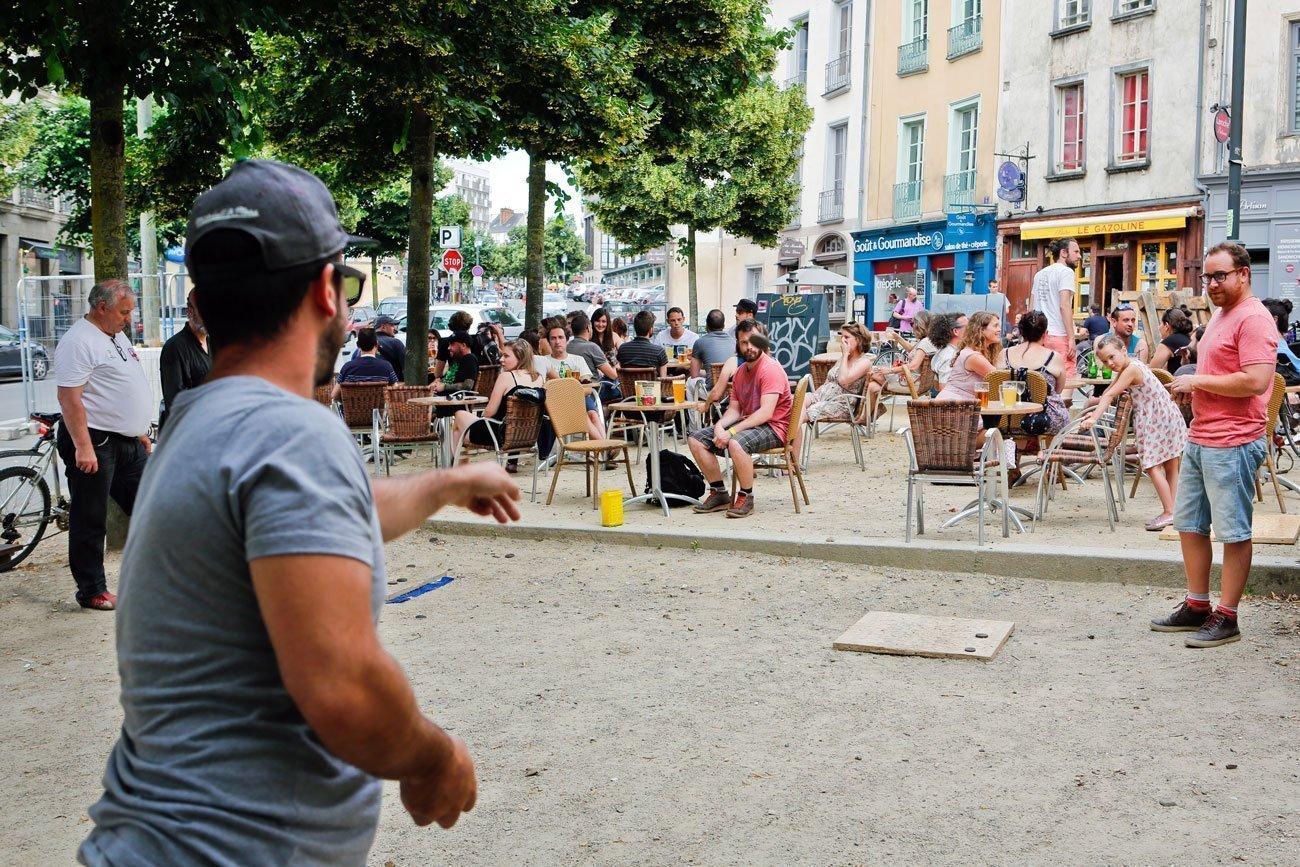 Jeu de palet à Rennes