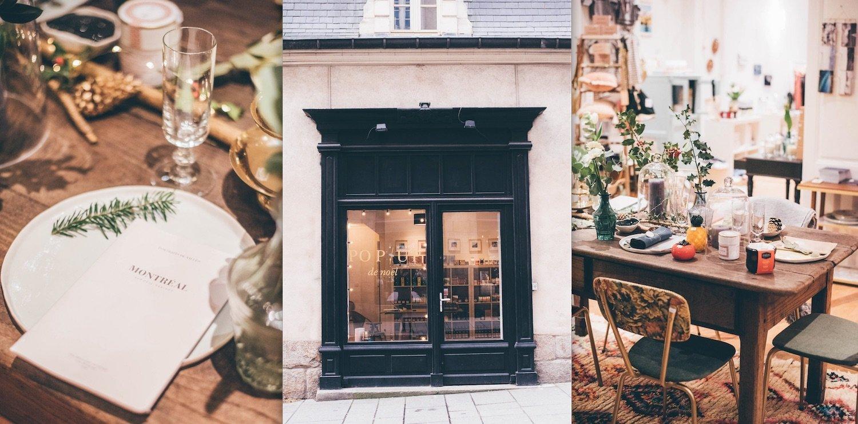 Pop up store de Noël à Rennes