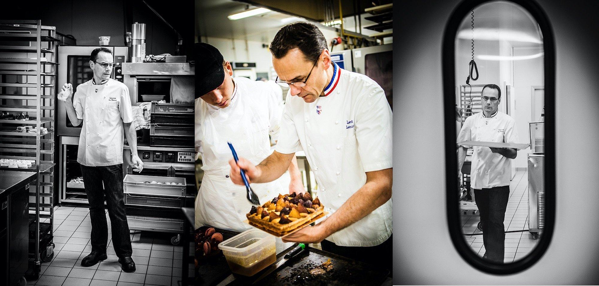 Le pâtissier Laurent Le Daniel à Rennes