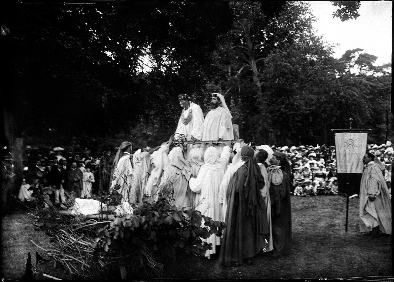 Rassemblement de druides