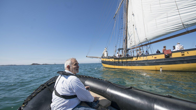 Marc Feldman en balade sur la côte