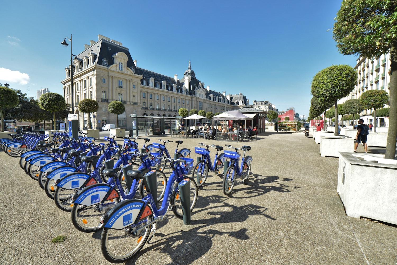 Vélo star, service de vélos en libre service à Rennes