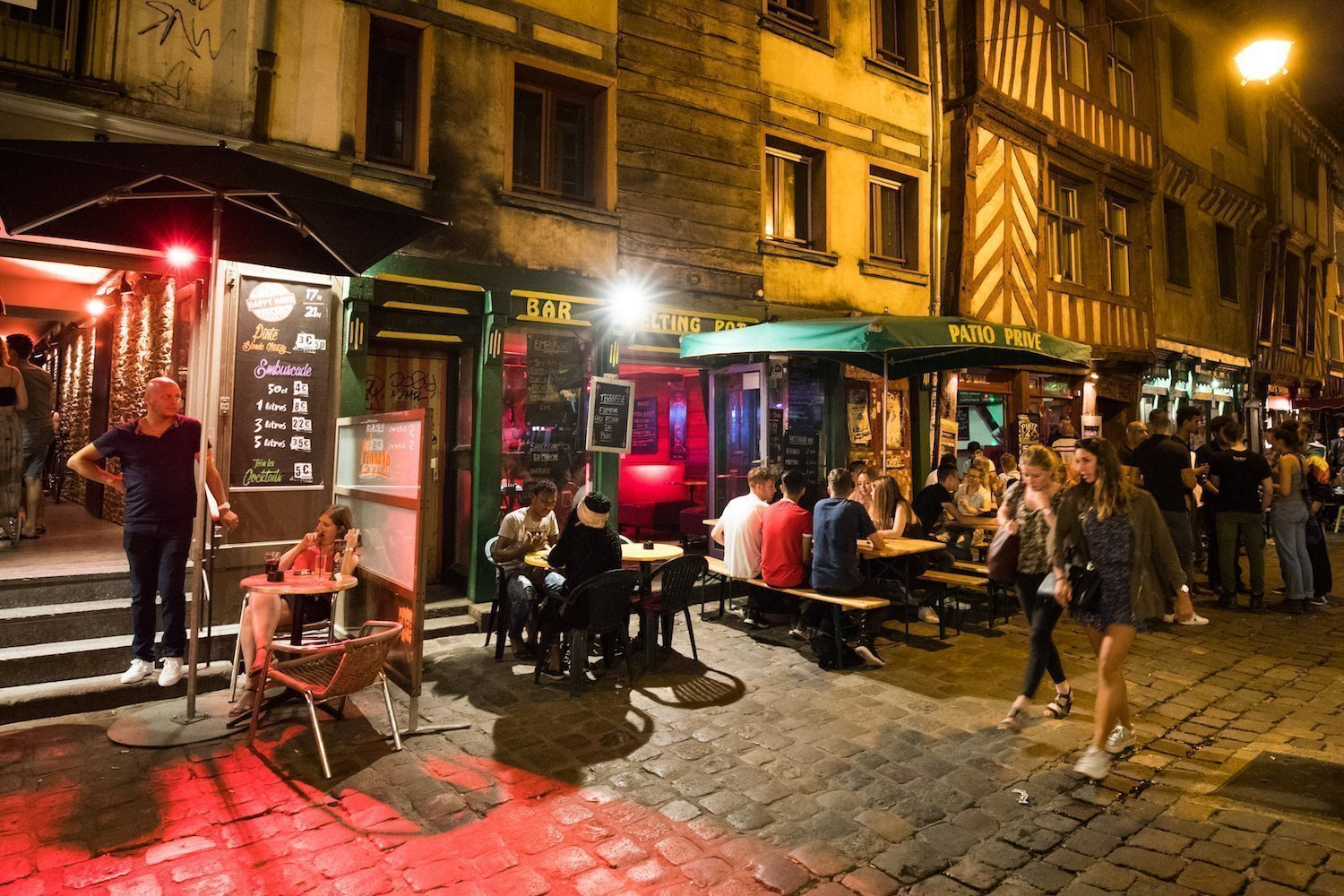 The Drinker's Alley in Rennes