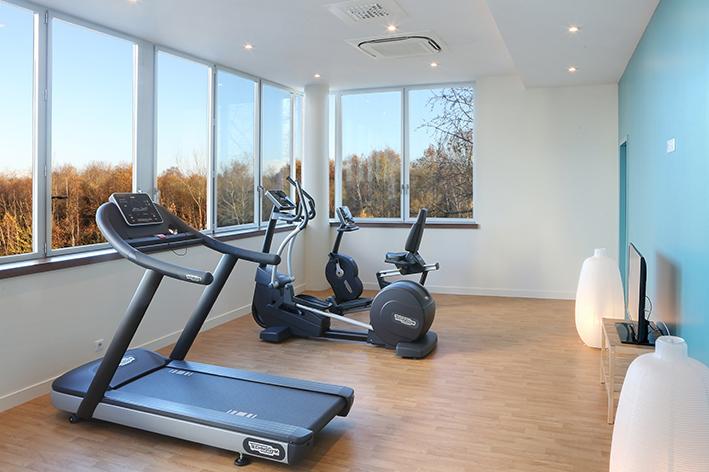 Salle de fitness de l'hôtel Isidore à Rennes