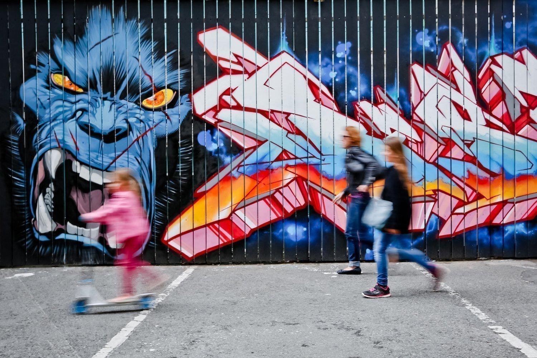 Street art, l'art dans la rue à Rennes