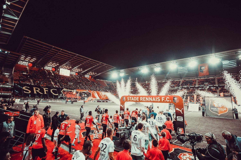 El Stade Rennais en el Roazhon Park