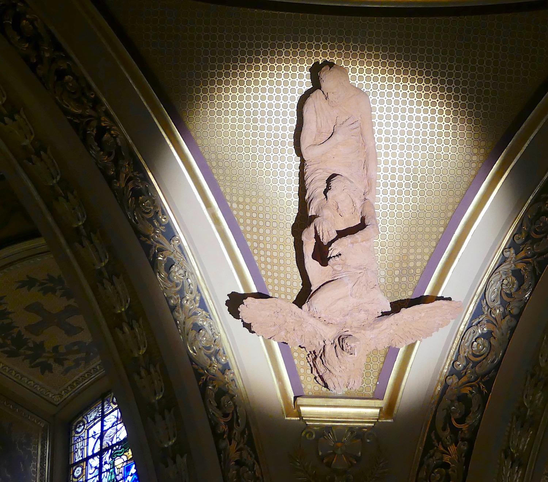 Statue de la cathédrale Saint-Pierre