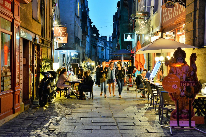 Rue Saint-Georges à Rennes