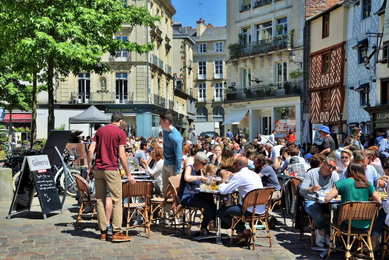 Terrasses Place Rallier-du-Baty