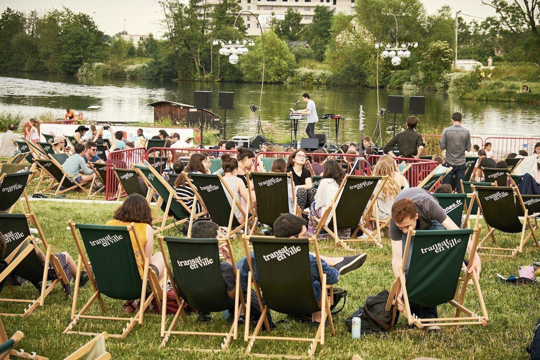 The festival Transat en ville