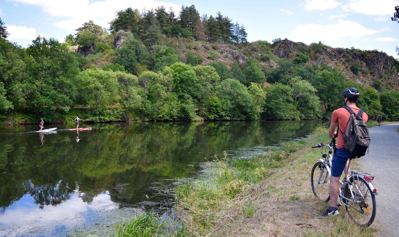 Bike ride along the Vilaine