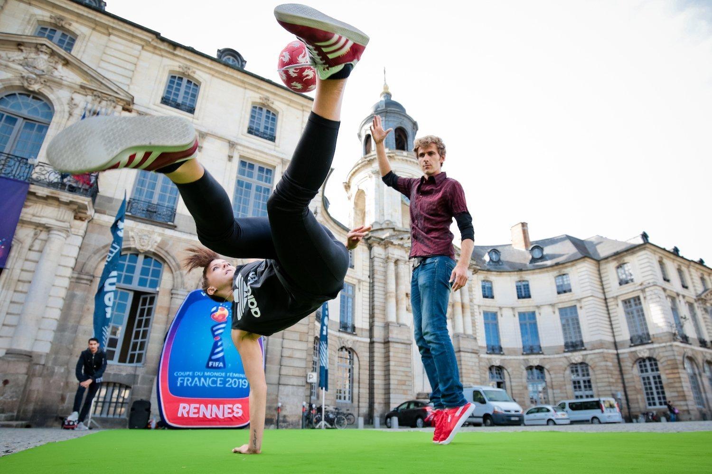 Cet été, Rennes accueille la Coupe du Monde féminine de football