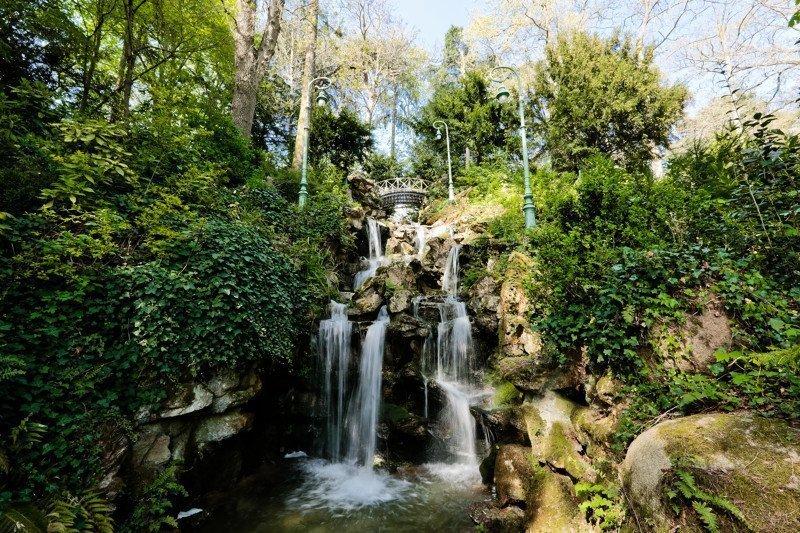 the Thabor gardens