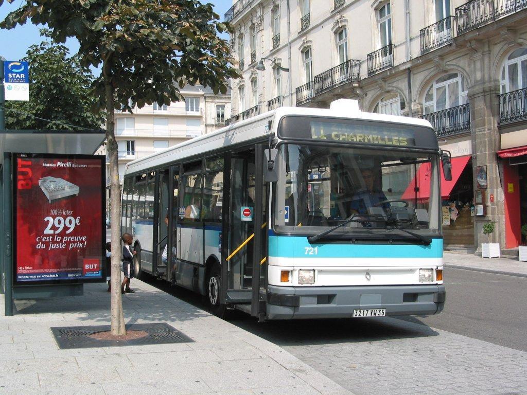 Bus à Rennes