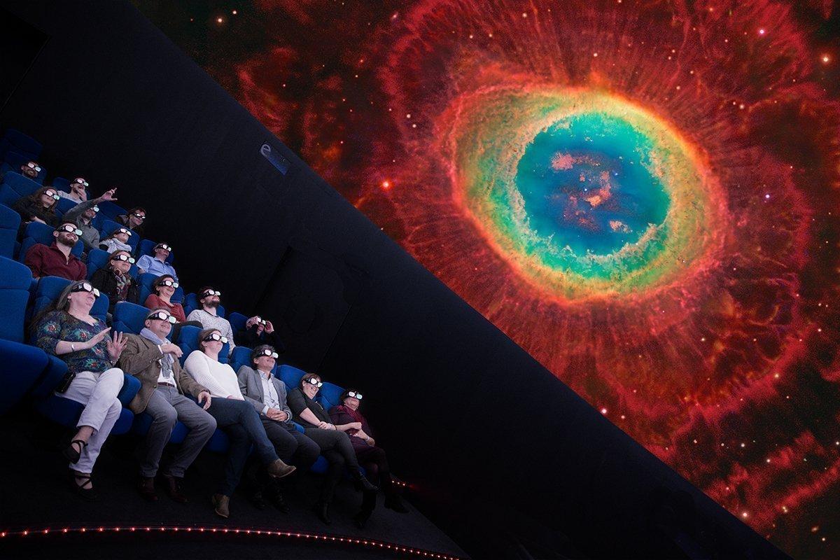 Le planétarium de l'espace des sciences à Rennes