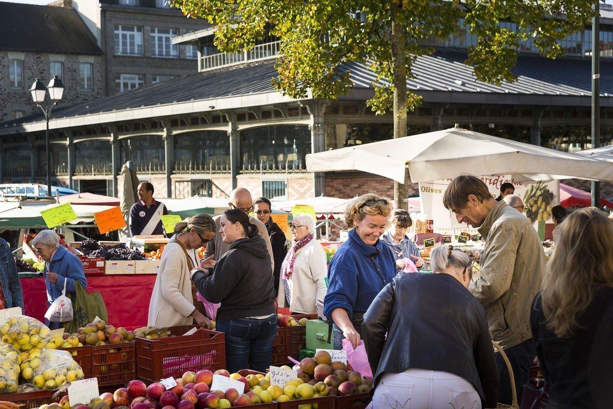 El mercado de Lices en Rennes