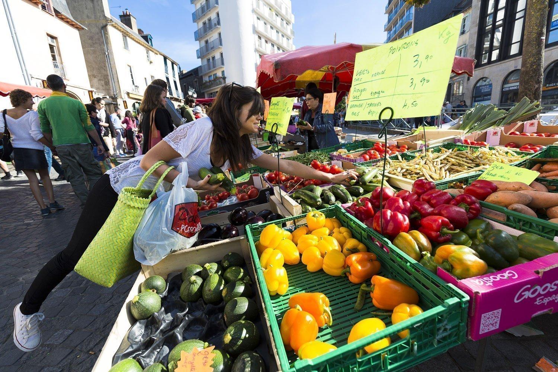 Mercado del Lices de Rennes