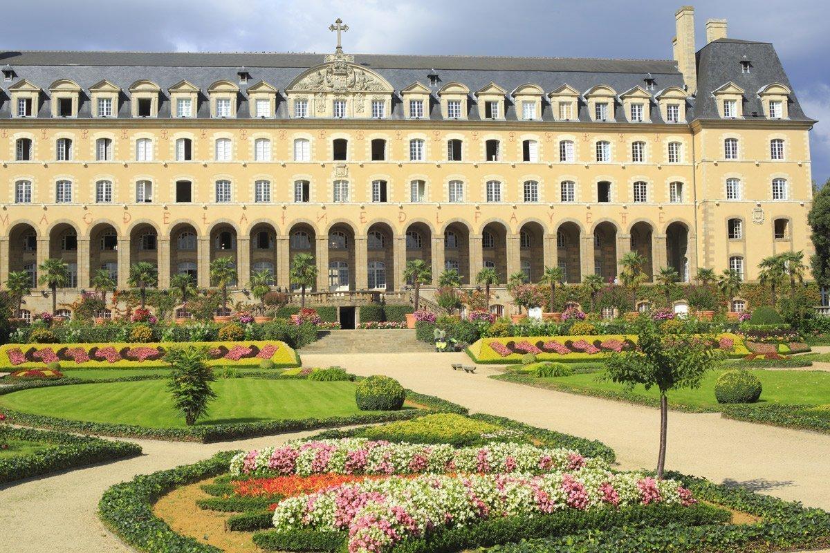 Le jardin du Palais Saint-Georges