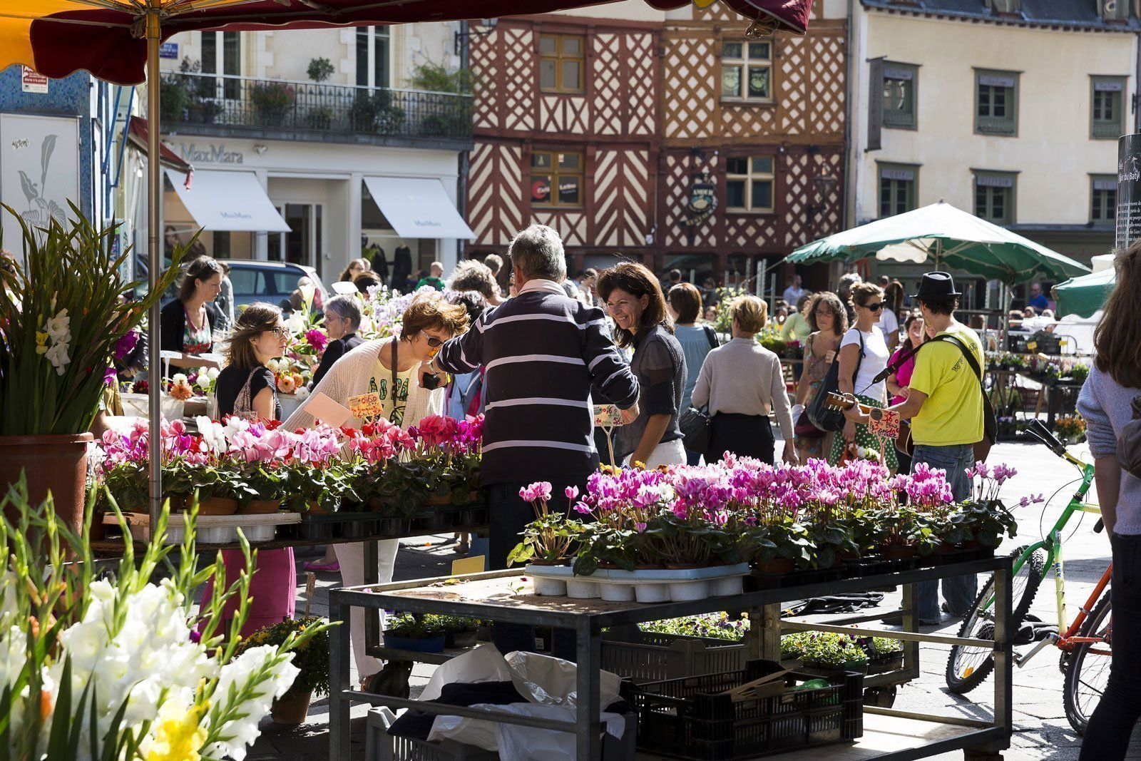 El mercado del Lices en Rennes