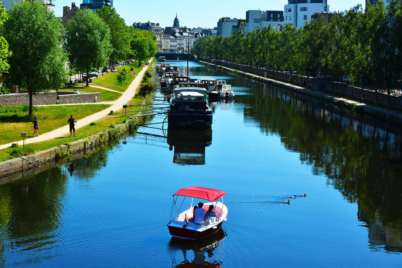 Boat trip in Rennes